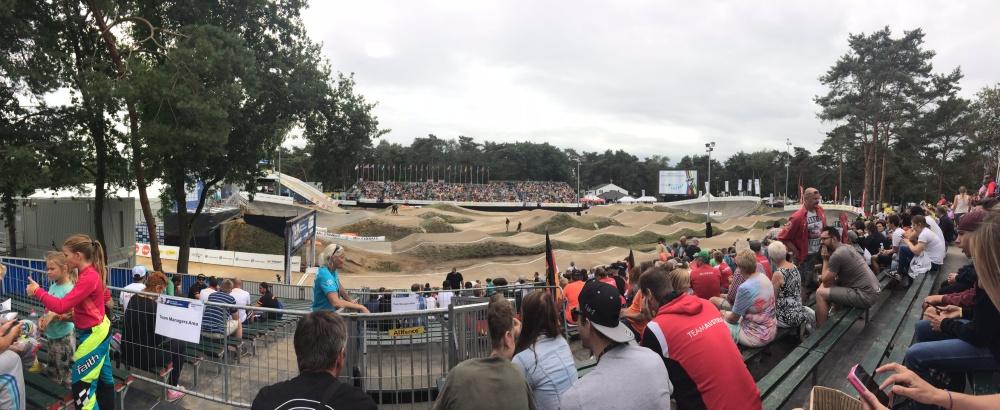 BMX race track