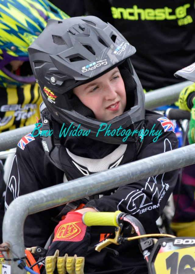 Lewis Holmes BMX widow photo 1