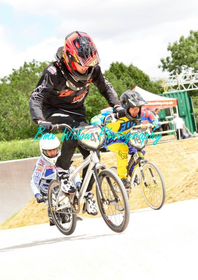 Lewis Holmes Racing BMX Widow photography